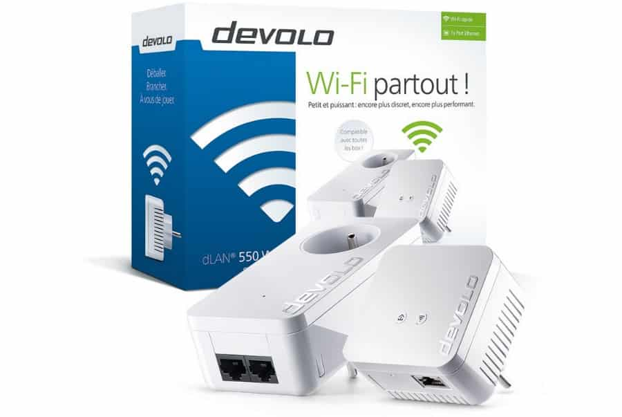 Devolo dlan 550 wifi un nouveau cpl wi fi - Cpl wifi orange ...